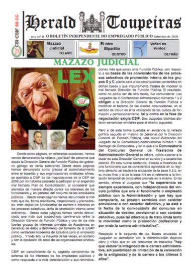Mazazo Judicial