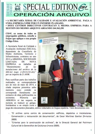 Especial Operación Arquivo