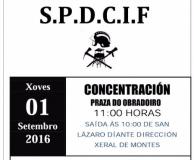 Protesta SPDCIF